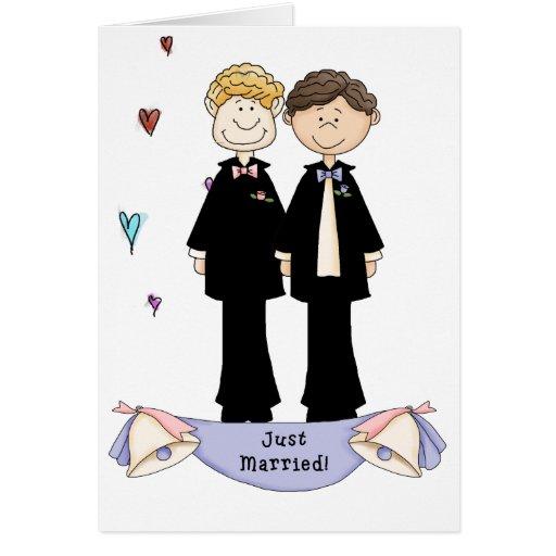matrimonio homosexual felicitacion