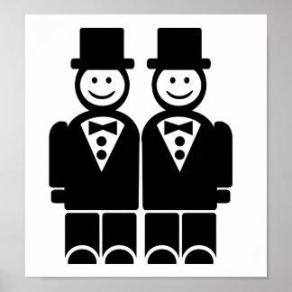 Matrimonio homosexual póster