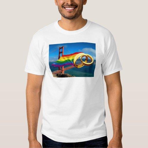 Matrimonio homosexual San Francisco Playera