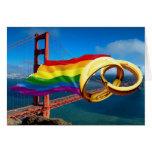 Matrimonio homosexual San Francisco Tarjeton