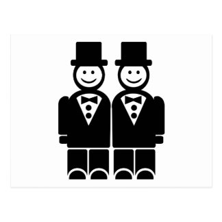 Matrimonio homosexual postales