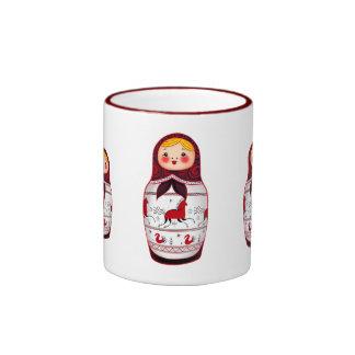 Matrioshka Coffee Mugs