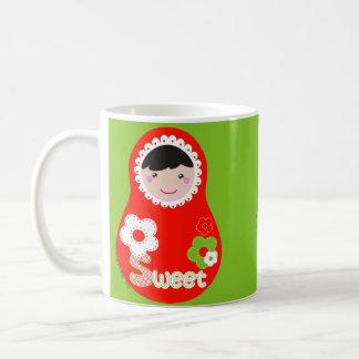 Matrioska Sweet Cup Taza