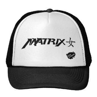 Matrix Girl Black Cap Trucker Hat