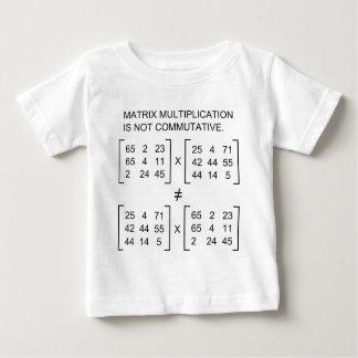 Matrix multiplication infant t-shirt
