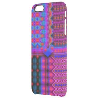 Matrix of Love Clear iPhone 6 Plus Case