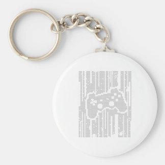 Matrix Pad - Controller Gamer Video Games Gaming Keychain