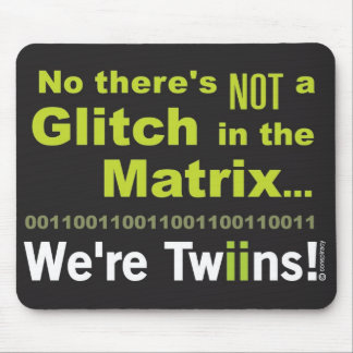 Matrix Twins Mouse Pad