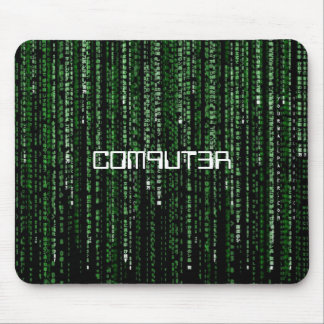 Matriz-Código C0M9UT3R Alfombrilla De Ratones