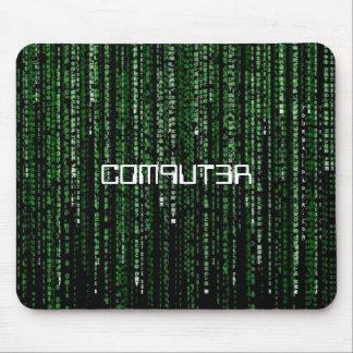 Matriz-Código, C0M9UT3R Alfombrilla De Ratones
