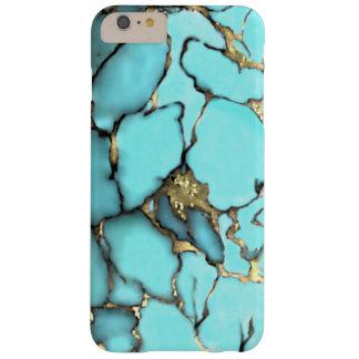 Matriz del oro de la piedra preciosa de la funda de iPhone 6 plus barely there