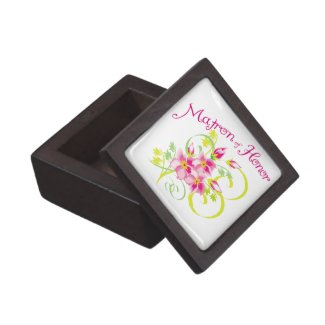 Matron of Honor Bridal Party Premium Gift Box