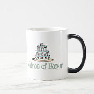 Matron Of Honor (Cake) Magic Mug