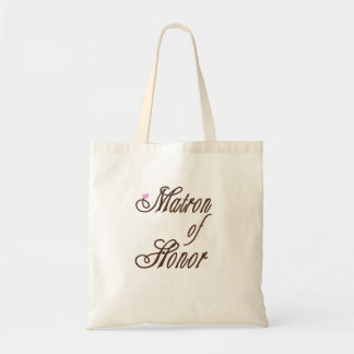 Matron of Honor Classy Browns Tote Bag