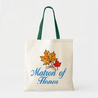 Matron of honor - fall tote bag