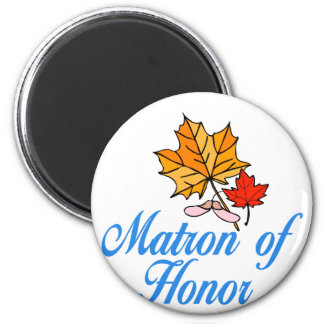 Matron of honor - fall refrigerator magnets