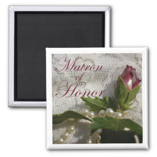 Matron of Honor Favor Magnet Magnets