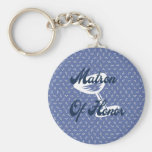 Matron Of Honor Keychain