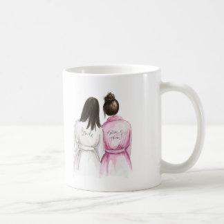 Matron of Honor? Long Dk Br Bride Dk Br Bun Maid Coffee Mug