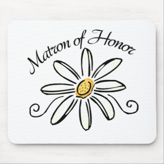 Matron of Honor Mouse Pad
