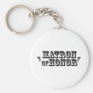 Matron of Honor - Old West Keychain
