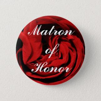 Matron Of Honor Pinback Button