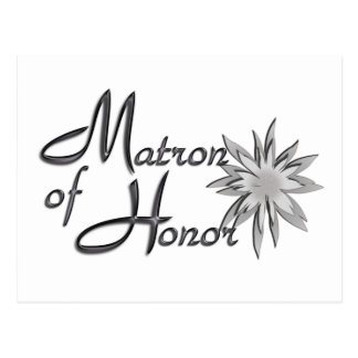 Matron of Honor Postcards