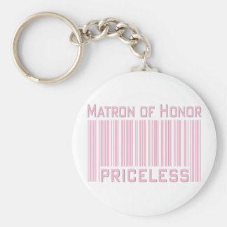 Matron of Honor Priceless Keychain
