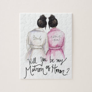 Matron of Honor? Puzzle Bk Bun Bride Bk Bun Maid