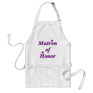 Matron of Honor Simply Love Adult Apron