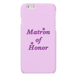 Matron of Honor Simply Love Matte iPhone 6 Case