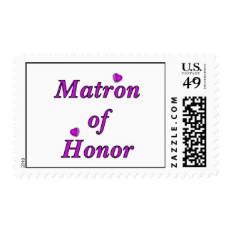 Matron of Honor Simply Love Postage