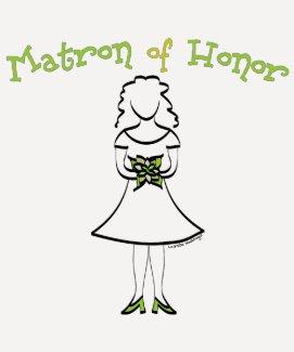 Matron of Honor Tees