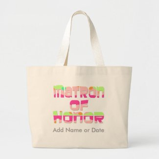 Matron of Honor Tees and Gifts zazzle_bag