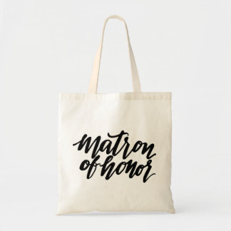 Matron of Honor Tote Budget Tote Bag