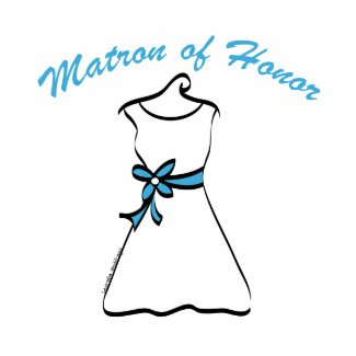 Matron of Honor zazzle_shirt