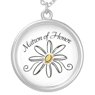 Matron of Honor Wedding Necklace