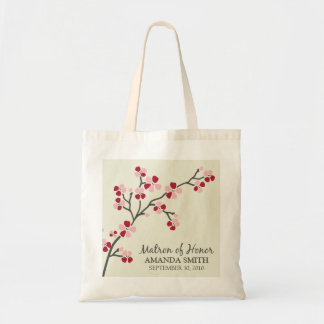 Matron of Honor Wedding Party Gift Bag (red)