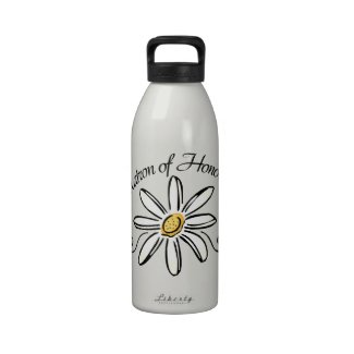 Matron of Honor Wedding Water Bottles