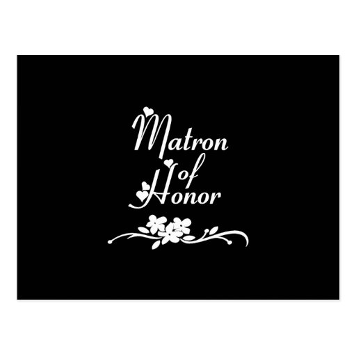 Matrona clásica del honor tarjetas postales