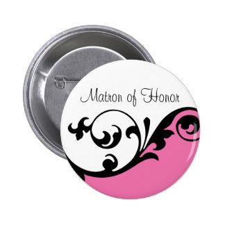Matrona del botón del honor pin