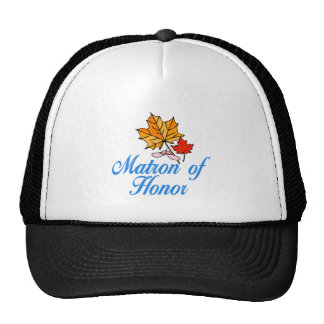 Matrona del honor - caída gorra