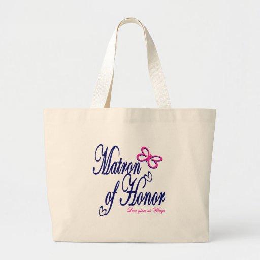 Matrona del honor/de la mariposa bolsa de mano