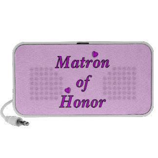 Matrona del honor del amor simplemente portátil altavoz