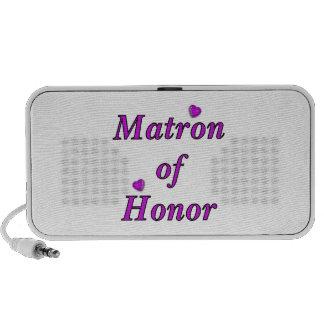 Matrona del honor del amor simplemente iPhone altavoces