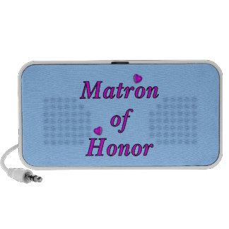 Matrona del honor del amor simplemente altavoz
