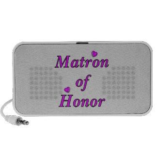 Matrona del honor del amor simplemente mini altavoces