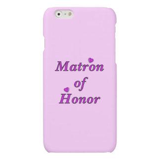 Matrona del honor del amor simplemente