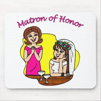 Matrona del honor II Alfombrillas De Raton