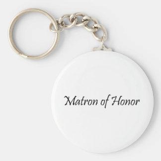 Matrona del honor llavero